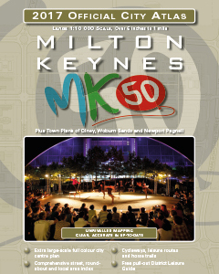 Milton Keynes atlas cover