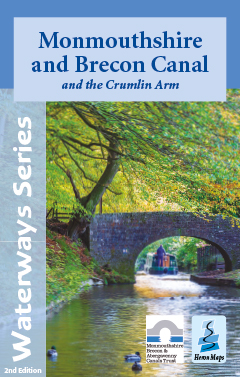 Monmouth and Brecon Canal map cover